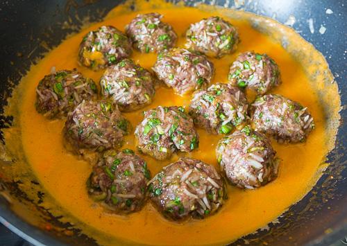Рецепт Кабачковые тефтели с рисом на Вкусном Блоге