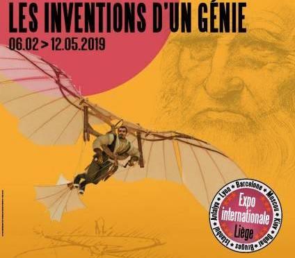 Visite de l'exposition Da Vinci Liège le 26 avril 2019