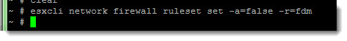 Adding Allowed IP Addresses to the ESXi Firewall