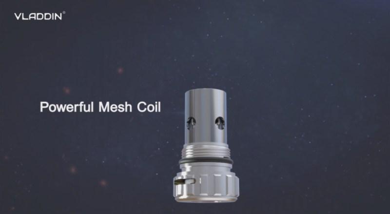 powerful mesh coil