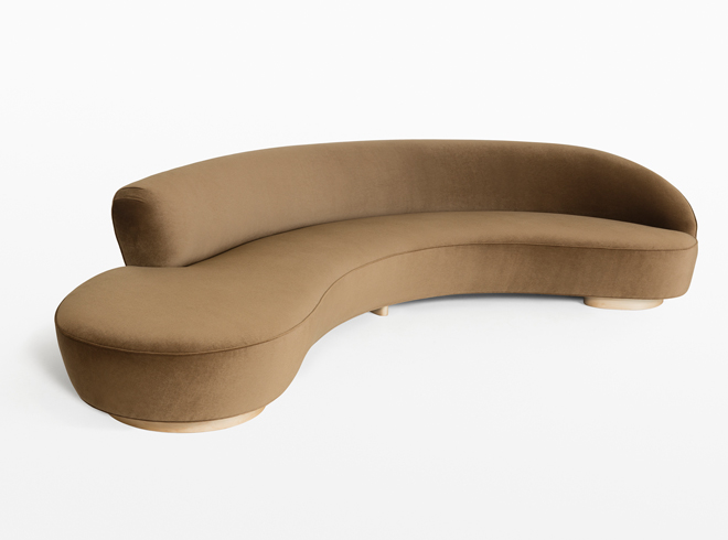 W Chaise Couch Lounge