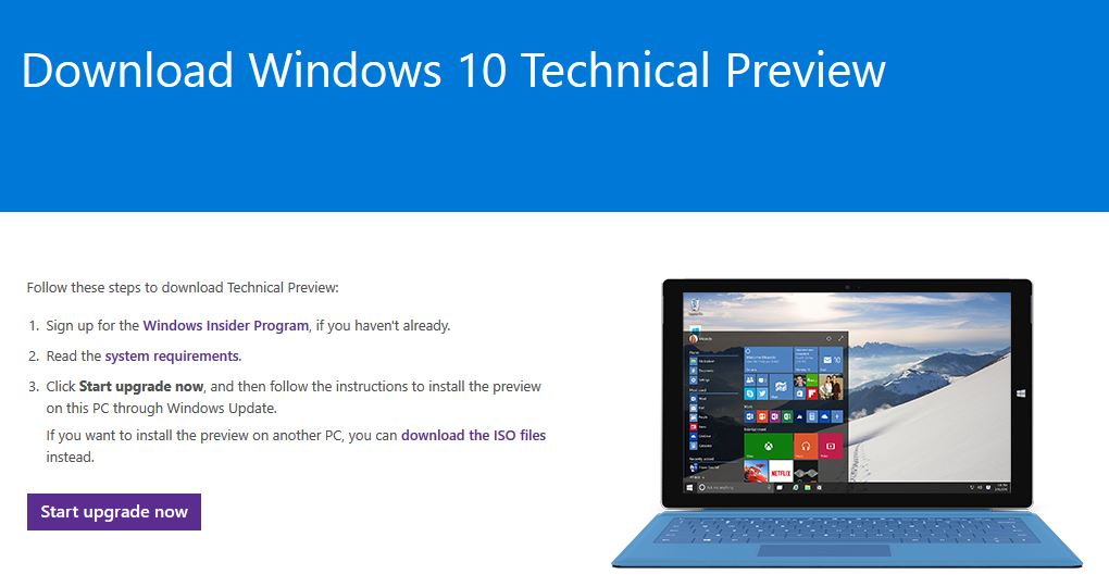 Installing Windows 10 Technical Preview – Vlad's IT Blog