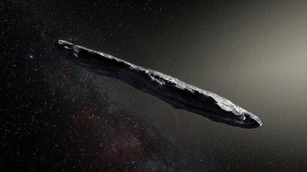 Ученые намерены догнать астероид попавший в Солнечную систему