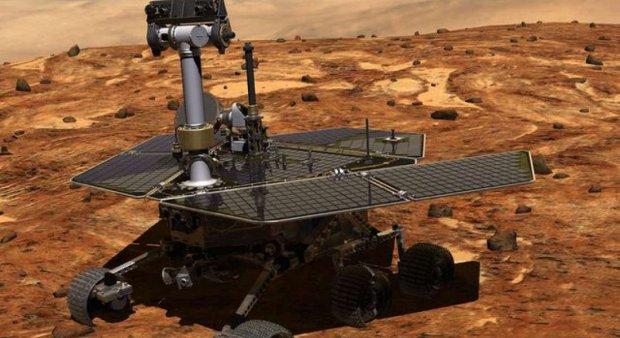Марсоход Opportunity передал первые снимки после зимней спячки