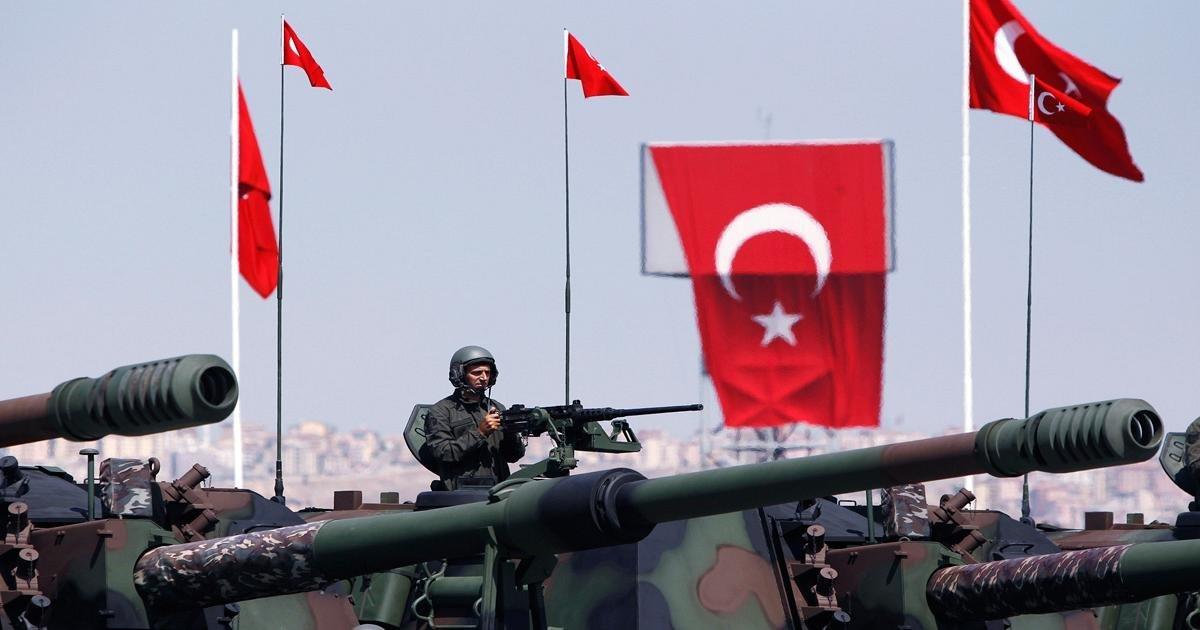 Армия Турции наступает на позиции курдов в Афринах