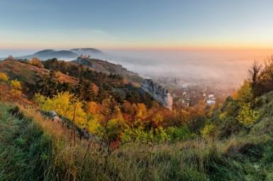 Podzim na Stolové hoře