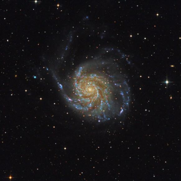 Galaxie Větrník M101