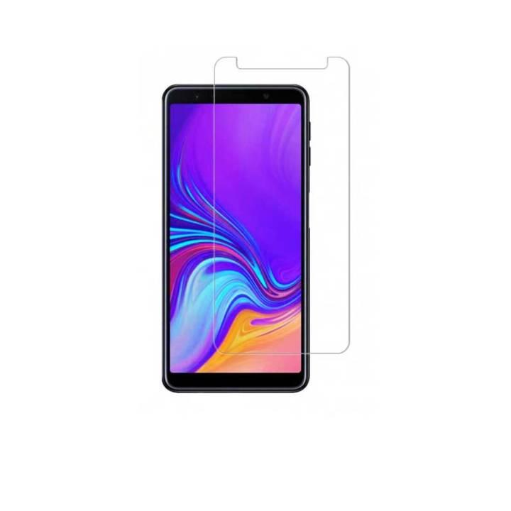 tempered glass samsung-A7 2018 ανω-λιοσια-καματερο-μενιδι-service-οθονες
