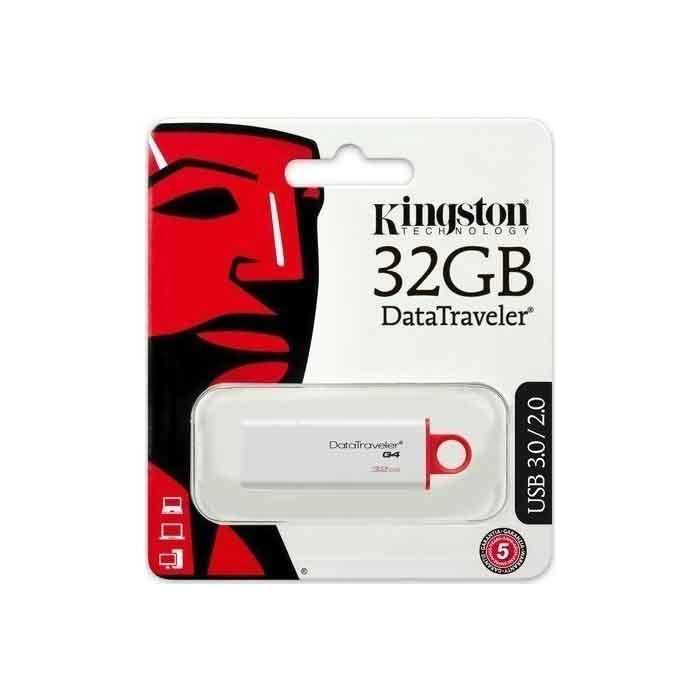 Usb 3.0 stick 32G kingston DTIG4 flash memory ano liosia,kamatero