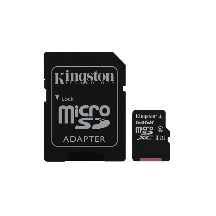 Καρτα μνημης 64G Micro sd kingston