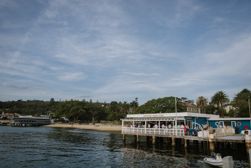 Vaucluse Yacht Club Wedding Watsons Bay Robertson Park