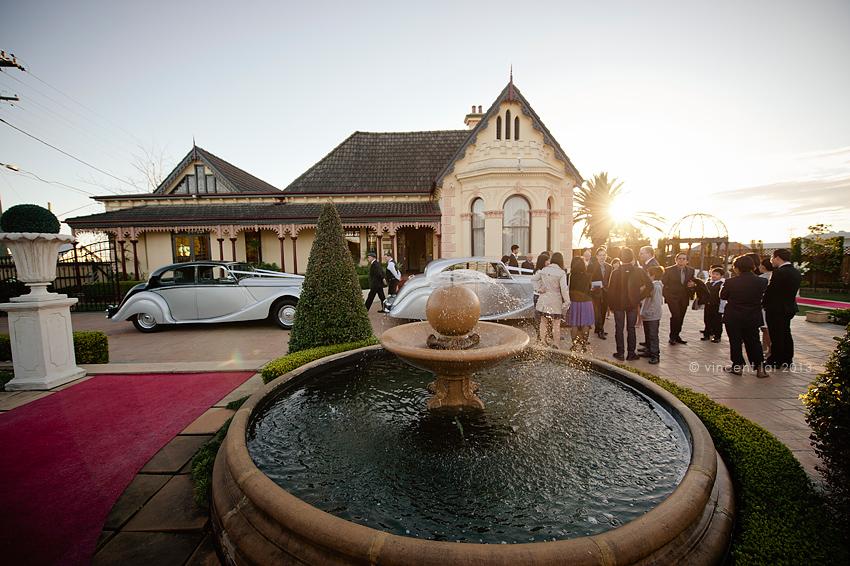 Lauriston House Wedding Ceremony And Wedding Reception