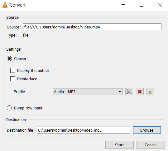 How to Convert Video to Audio (Mp3) using VLC