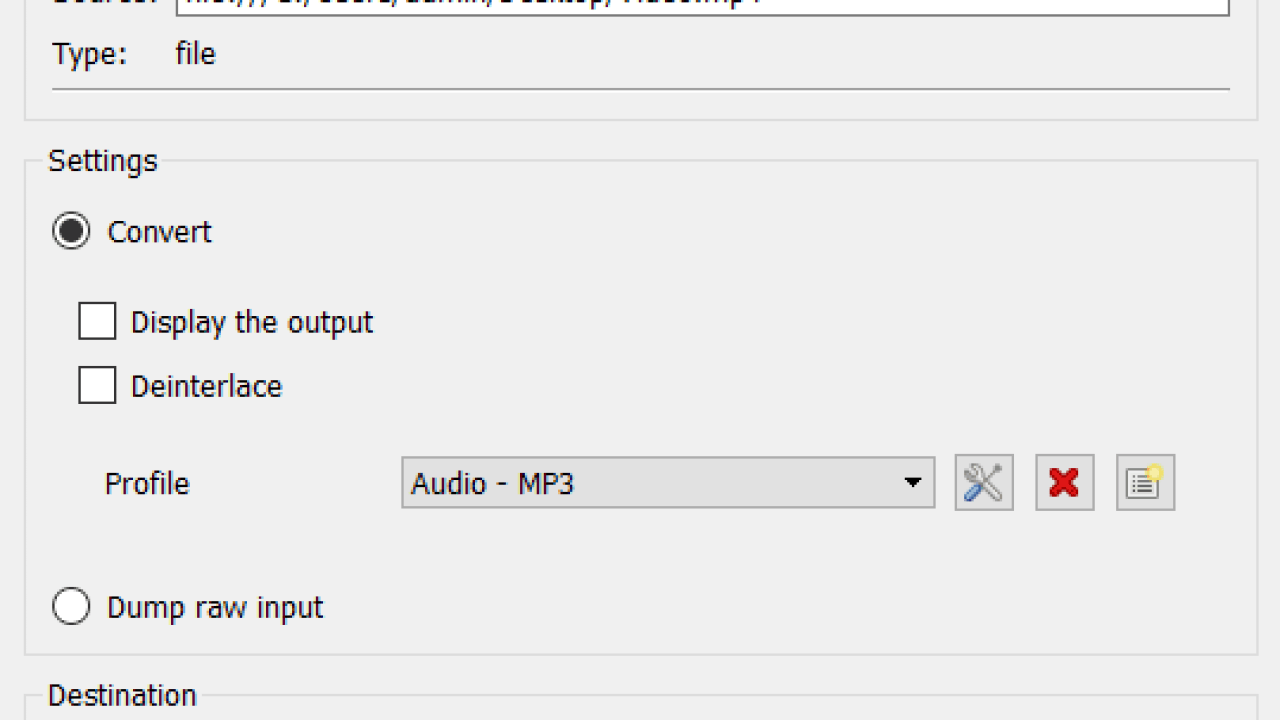 How To Convert Video To Audio Mp3 Using Vlc