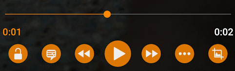 Full Controls in VLC for Android
