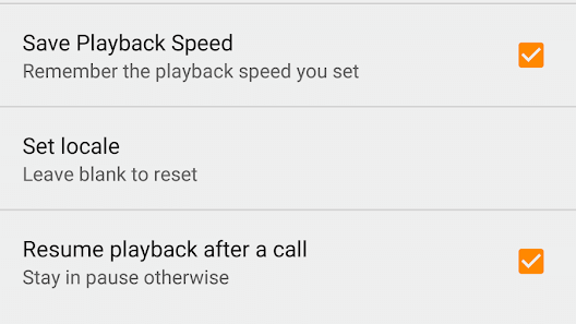 Save Playback Speed and Resume After a Call