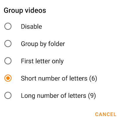 Group Video in VLC Android