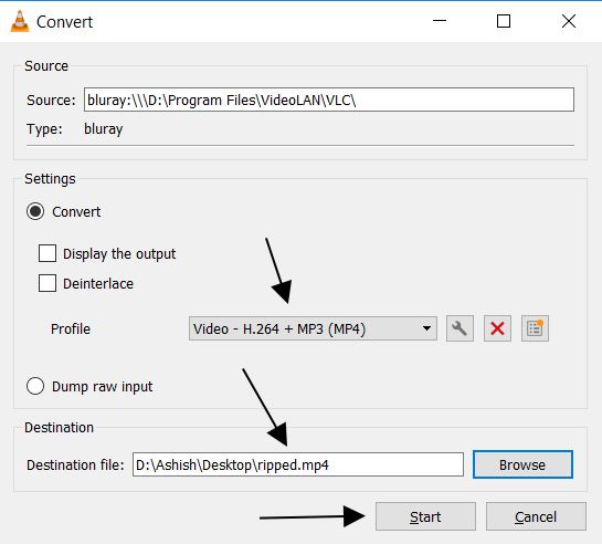 How to Rip a DVD, Blu-Ray, Audio or Video CD and Save it using VLC