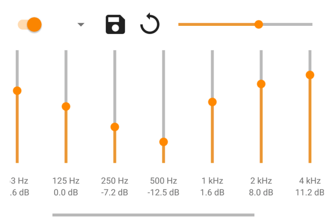 Full Graphic Equalizer in VLC for Android