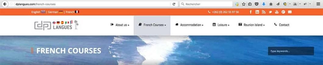 site ecole langues
