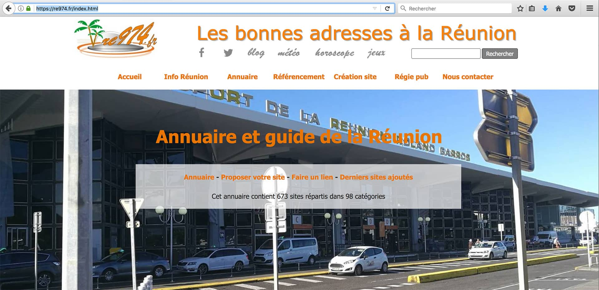 annuaire referencement reunion