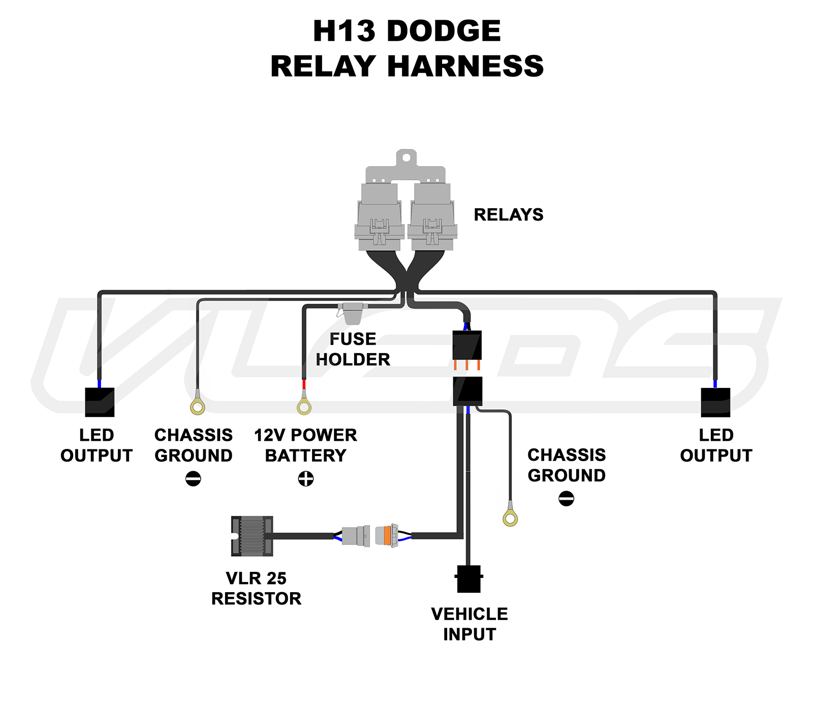 H13 Wiring Diagram