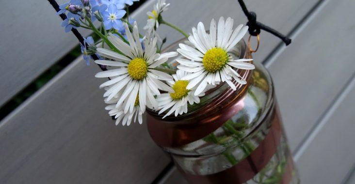 Glas Upcycling Windlichter Vasen Für Garten Und Balkon