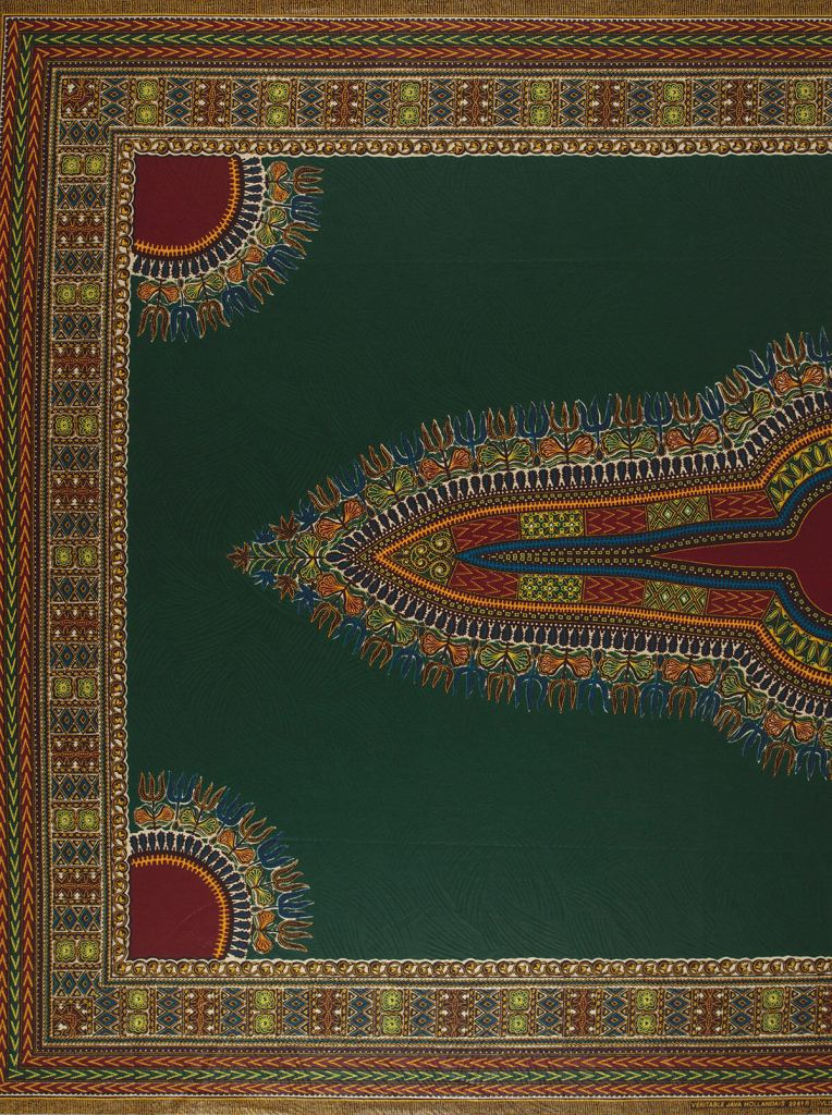 Vlisco Angelina fabric - story behind these African fabric