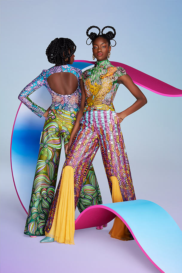 Vlisco City of Joy Fashionlook 02