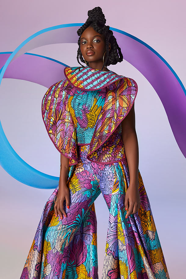 Vlisco City of Joy Fashionlook 09