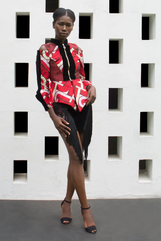 Vlisco&co Accra - House of Paòn - Look 04