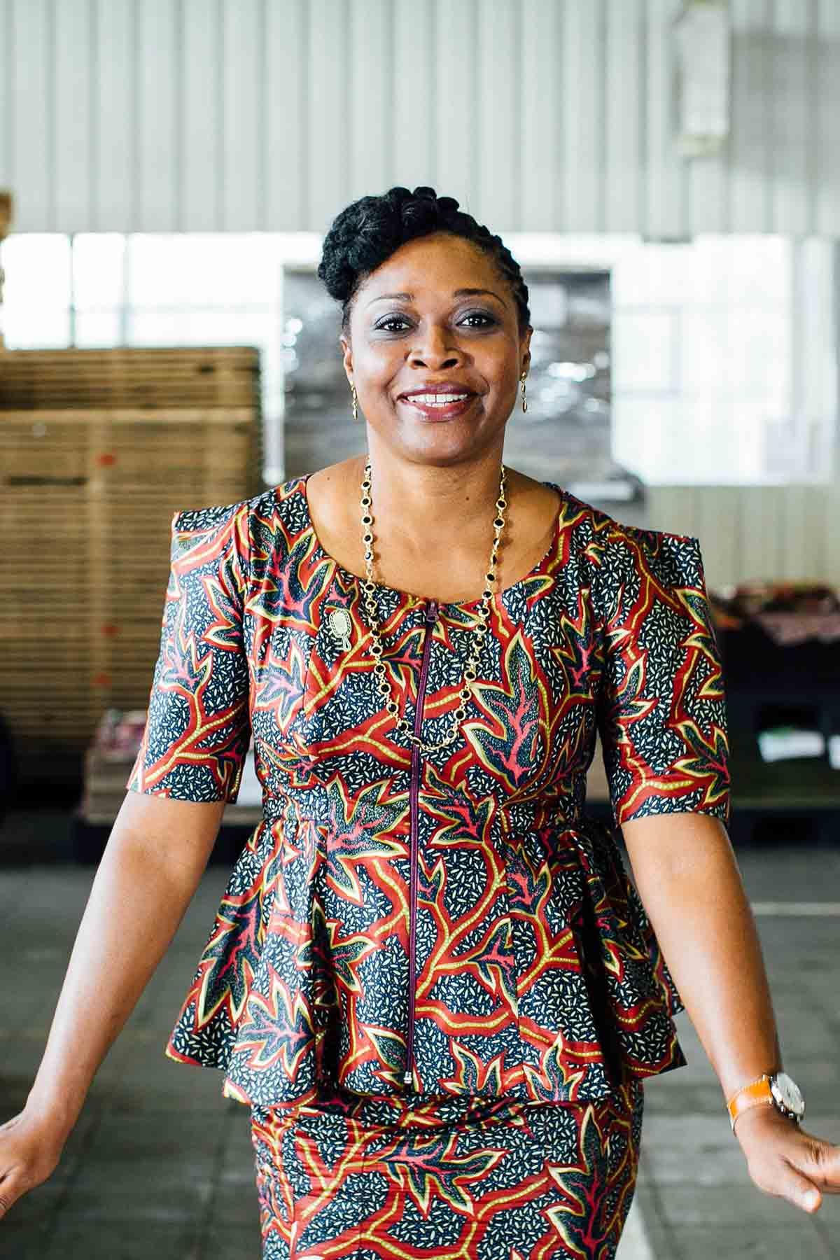 Vlisco Brand Ambassador Dotun Akande Nigeria