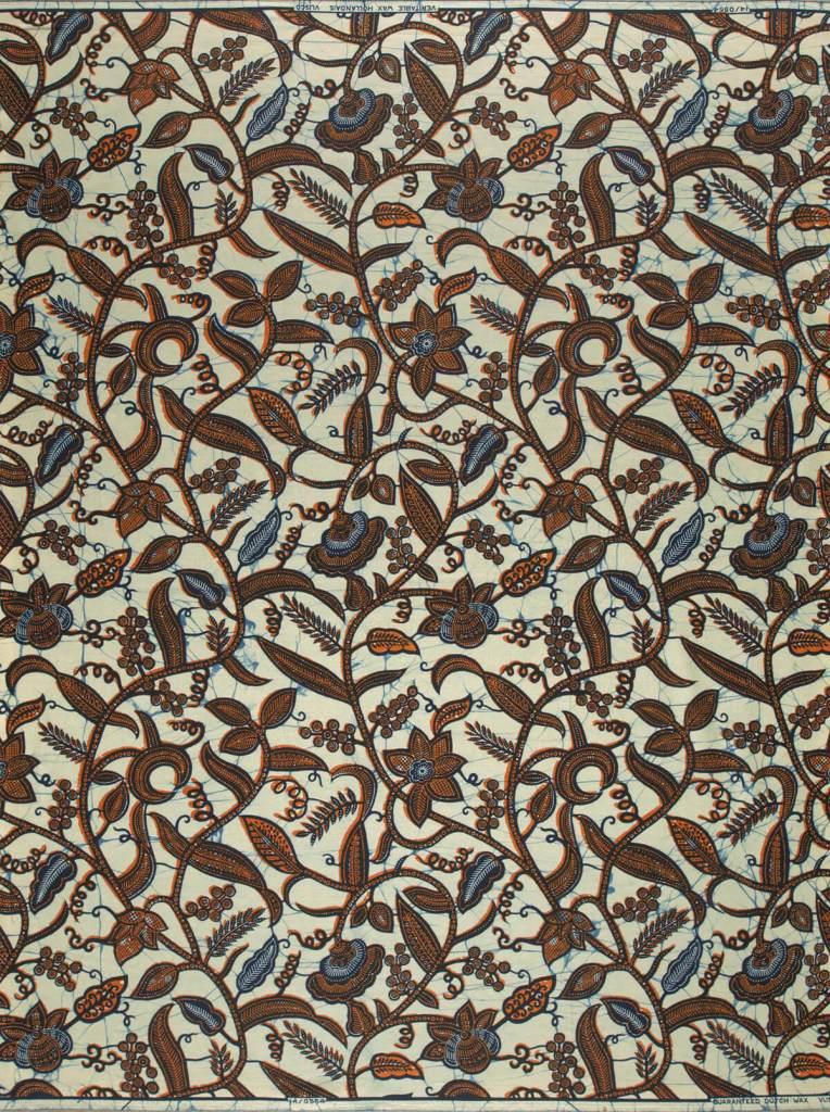 Leaf trail   Vlisco African / Ankara fabric names