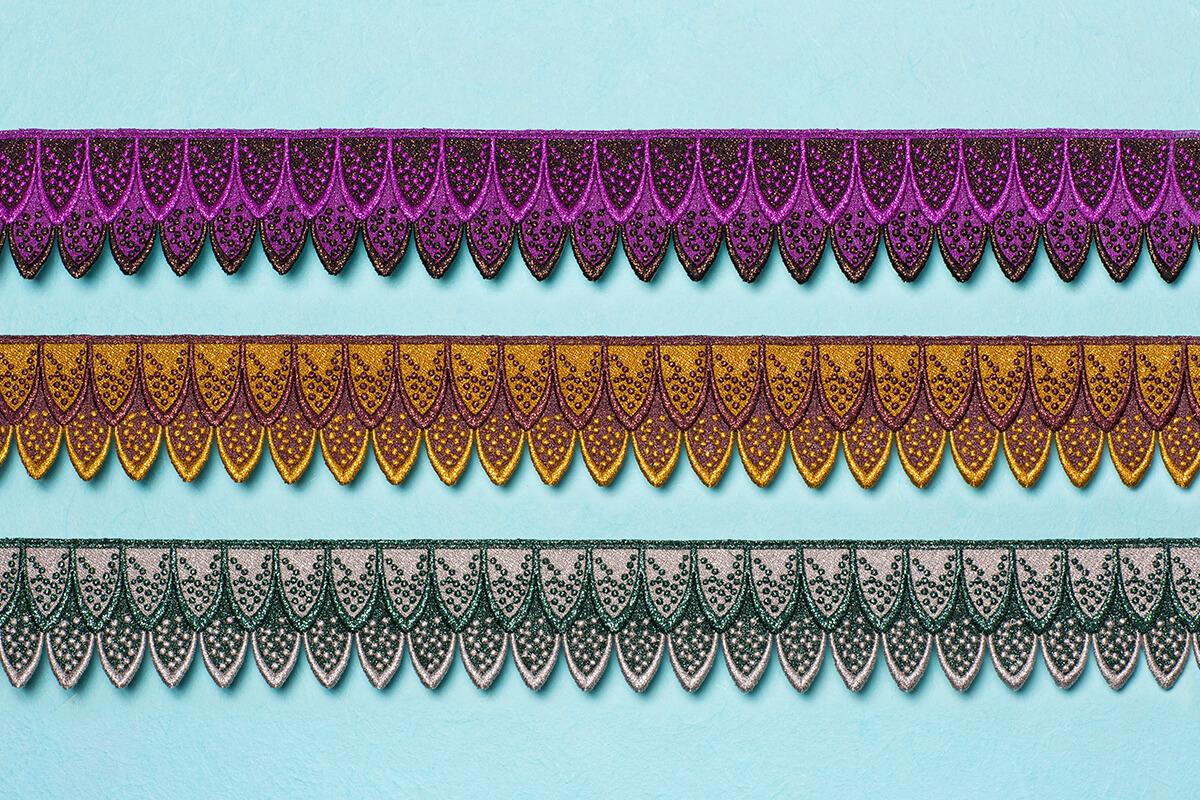 Guipure lace / motifs - Guipure lace pieces