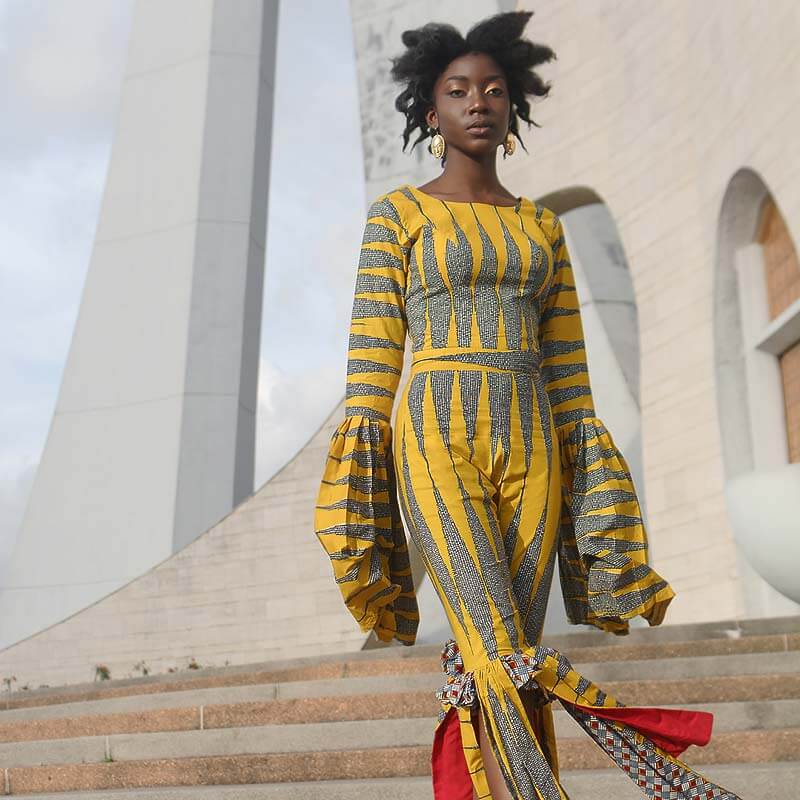 Yhebe x Vlisco by Nuits Balnéaires