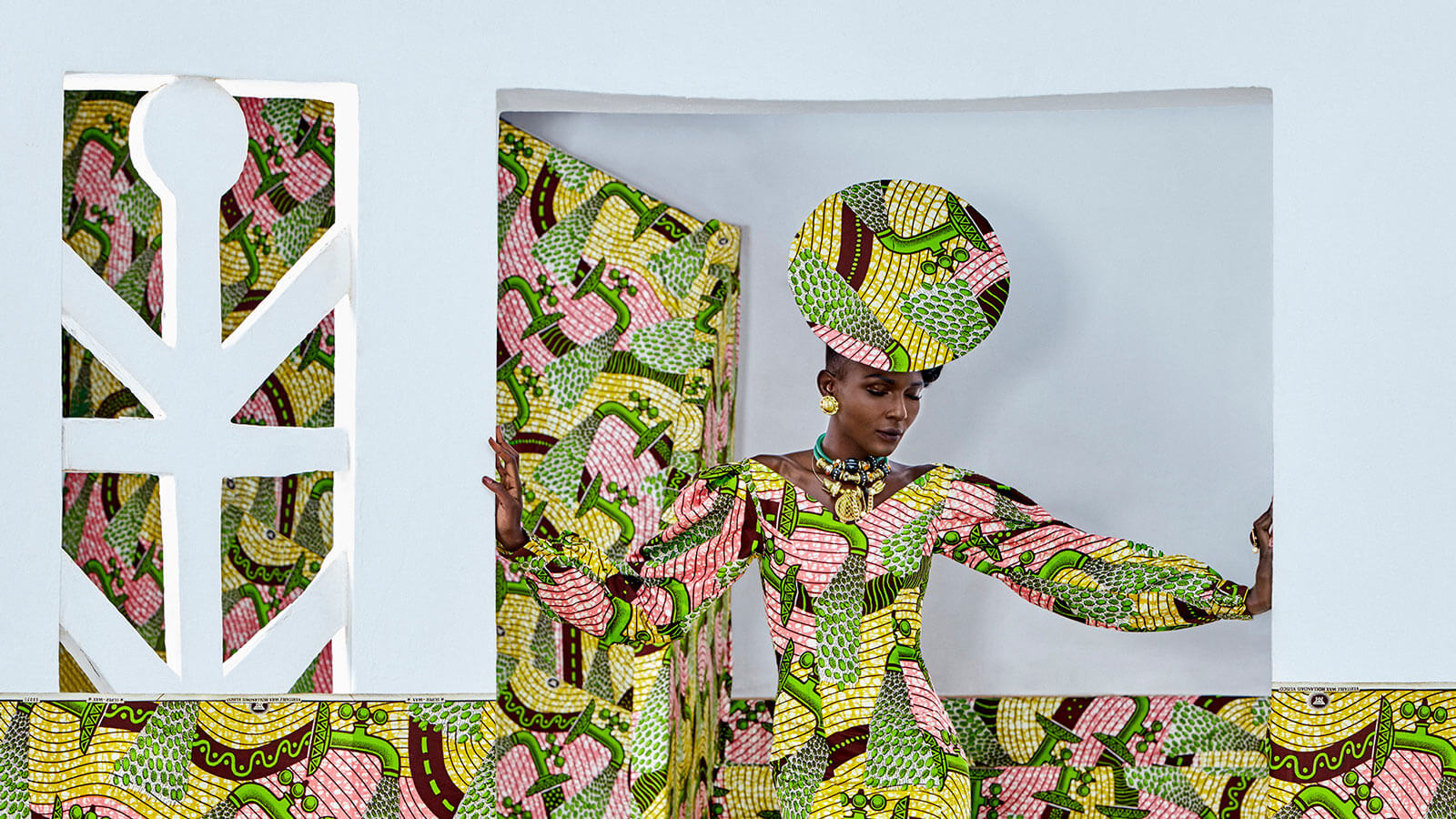 Vlisco Wax Fantastique Campaign