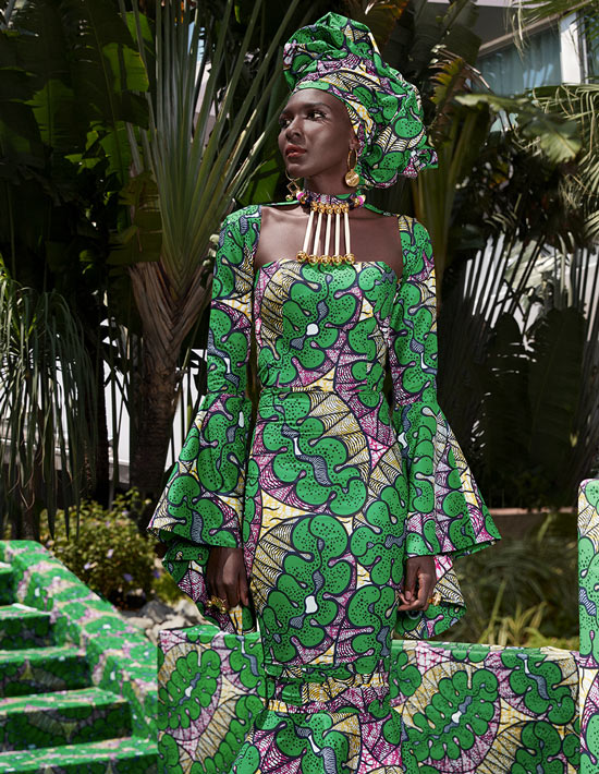 Daring diva Vlisco Lookbook Wax Fantastique