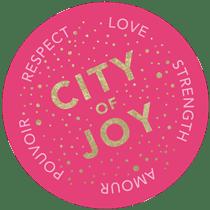 Sticker City Of Joy210