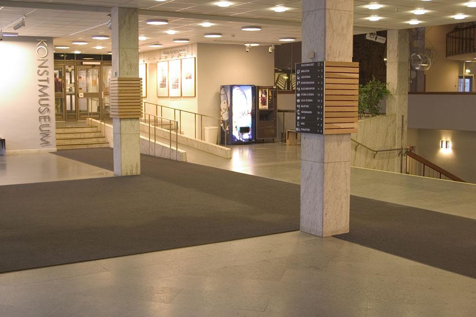 entrance matting carpet tile logo