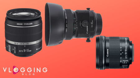 The Best Canon Lens for Vlogging and YouTube in 2021 – Top Picks