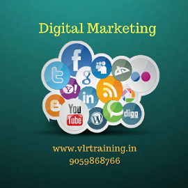 gital marketing online and classroom training by vlr training