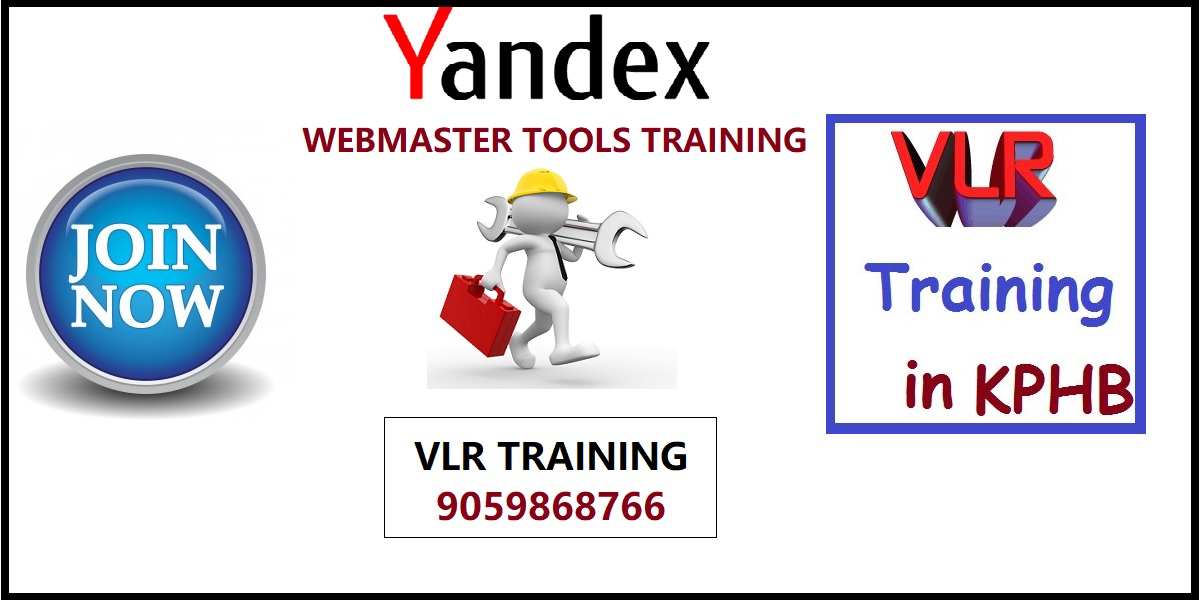 Yandex webmaster tools training videos In Telugu VLR Training