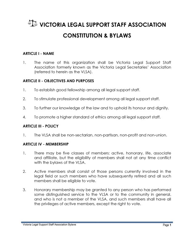 VLSA - Constitution & By-laws April 13%2c 2016-1