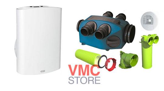 VMC simple flux et accessoires Brink