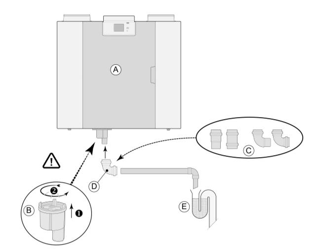 installation vmc double flux décentralisée