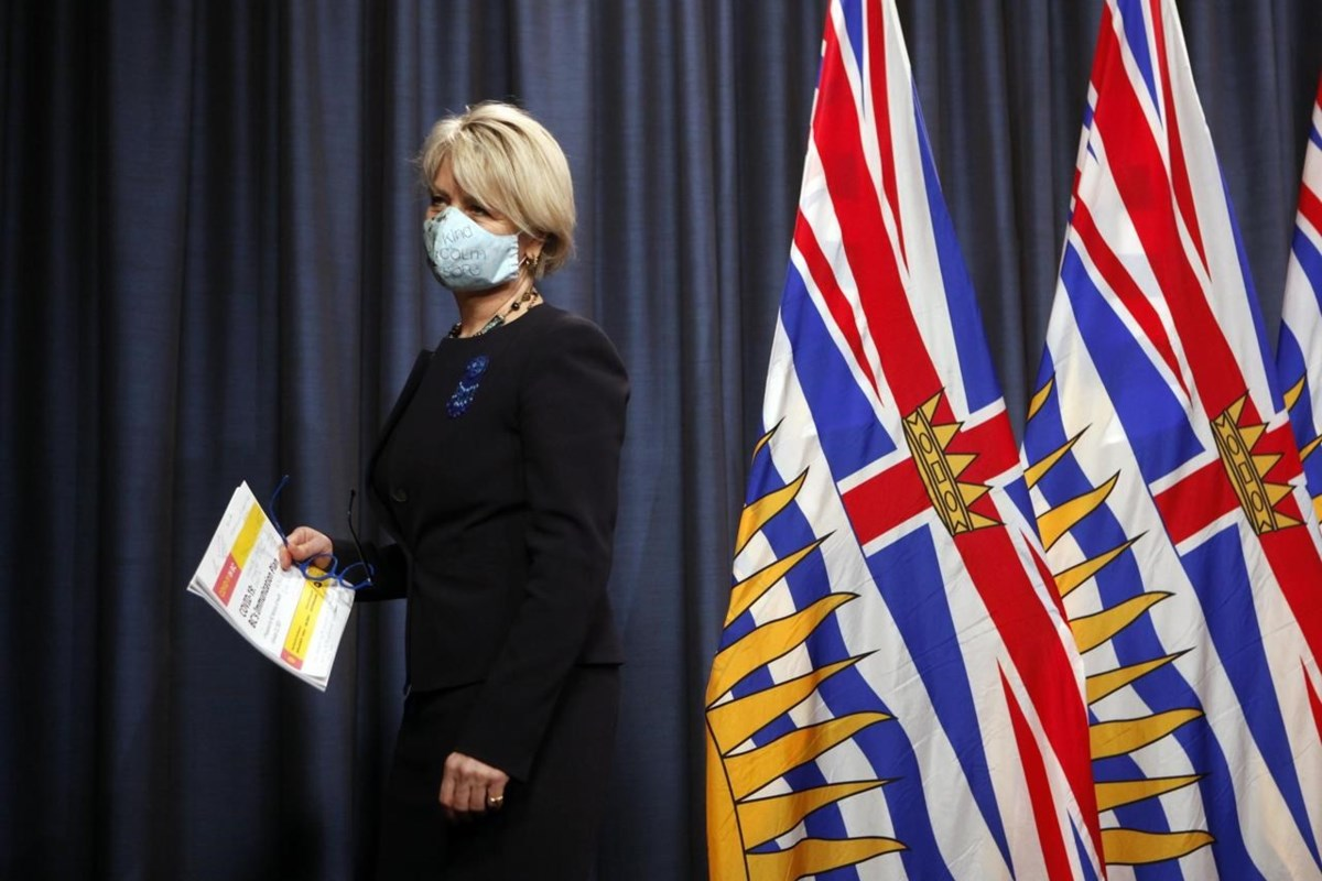 Concern for the rapid spread of COVID-19 prevents BC from lifting restrictions:  Henry