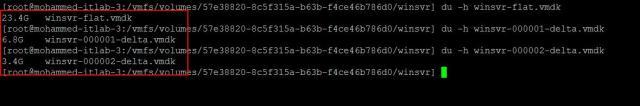 Delete All VMware Snapshots