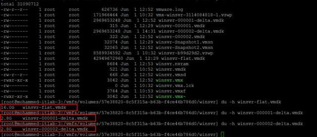 Delete Intermediate VMware Snapshots_2