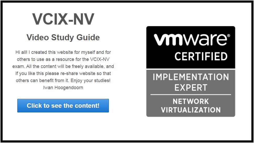 VCIX-NV