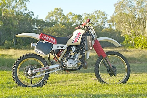 The YZ250K
